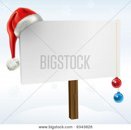 Ein Weihnachts-Zeichen