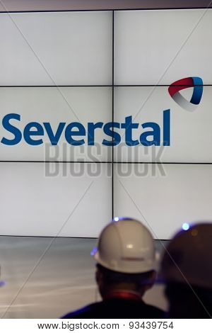 VSEVOLOZHSK, LENINGRAD OBLAST, RUSSIA - JUNE 5, 2015: Presentation of the joint enterprise Severstal-SSC-Vsevolozsk. The joint venture of Russian Severstal and Japanese Mitsui was established in 2010