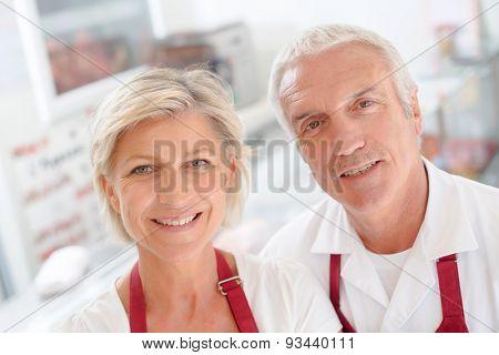 Butcher couple