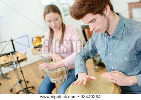 Percussion class