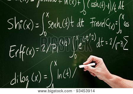 writting a mathematic formula