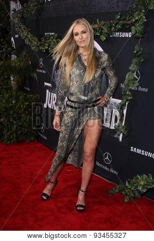 LOS ANGELES - JUN 9:  Lindsey Vonn at the