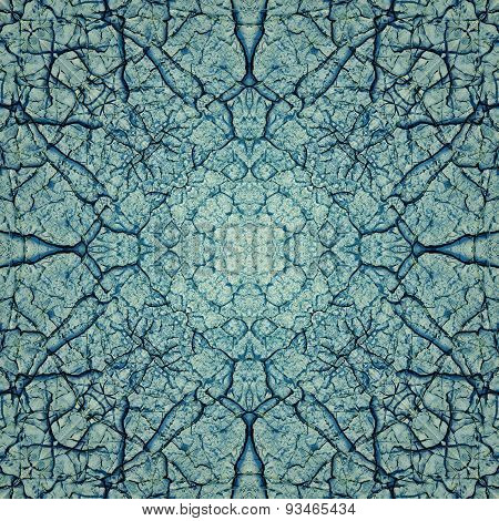 Decorative pattern, interlaced lines, the combination of fragments of images.