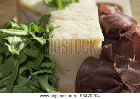 Bresaola Arugula And Parmesan
