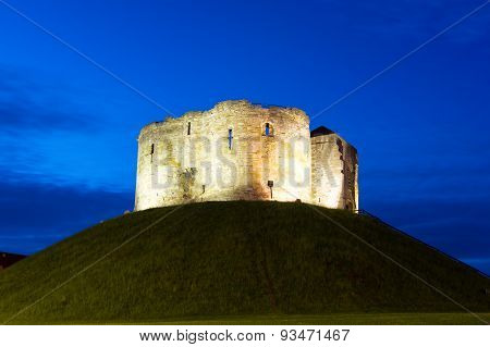 Clifford Tower, York, England