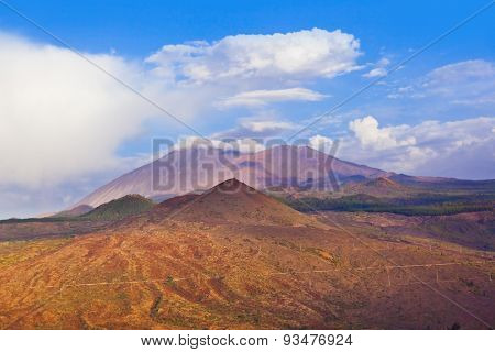 Mountains in Tenerife island - Canary Spain