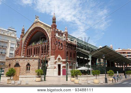 Colon Market In Valencia, Spain