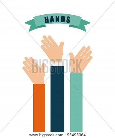 hands up design