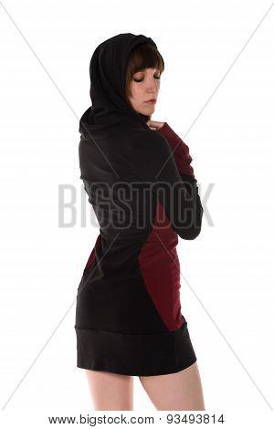Hooded Dress