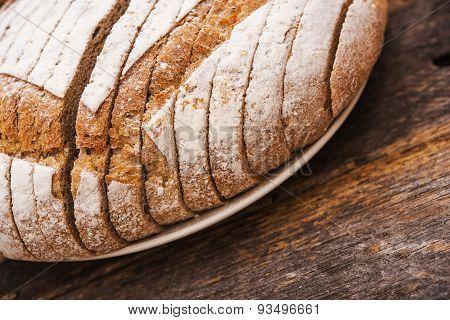 Fresh Organic Rye Bread