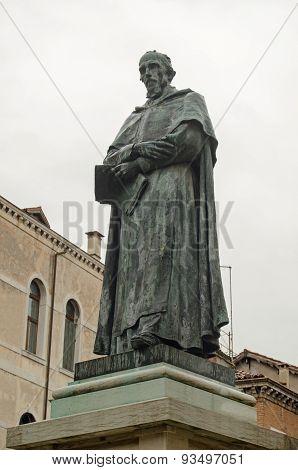Paolo Sarpi Statue, Venice