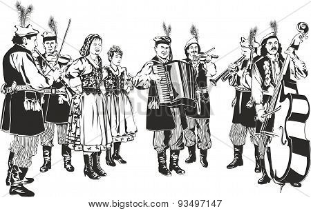 Polish Traditional Folk Band