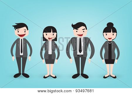 Business Character In Vector Style