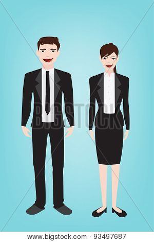 Business Man Character Style