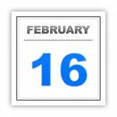 foto of february  - February 16 - JPG