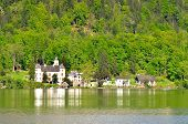 picture of mansion  - Mansion is located in Hallstatt historical village located in the beautiful Salzkammergut region - JPG