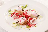 foto of scallops  - Scallop seafood appetizer  - JPG