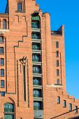 picture of free-trade  - Hamburg famous warehouse district called Speicherstadt in the former free port - JPG