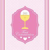foto of communion-cup  - first communion design - JPG