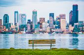 picture of bench  - Seattle Vista Bench - JPG