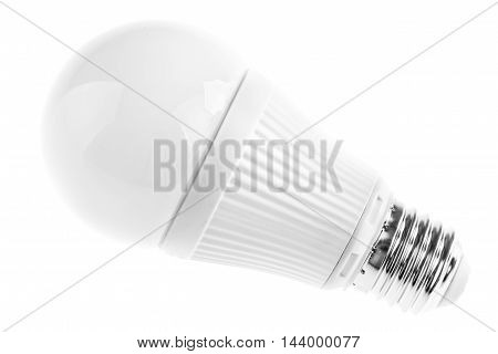 Led Lightbulb On White