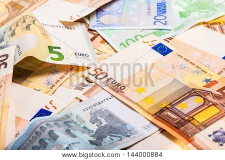 Euro Currency Heap Detail
