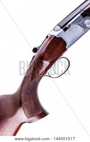 Vertical Shotgun Detail Isolated