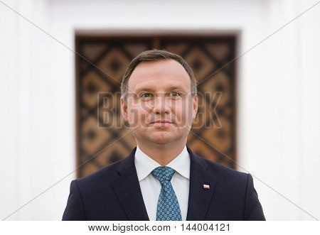 President Of The Republic Of Poland Andrzej Duda