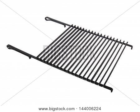 grill roaster isolated on a white background