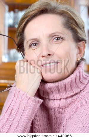 Middleaged Woman