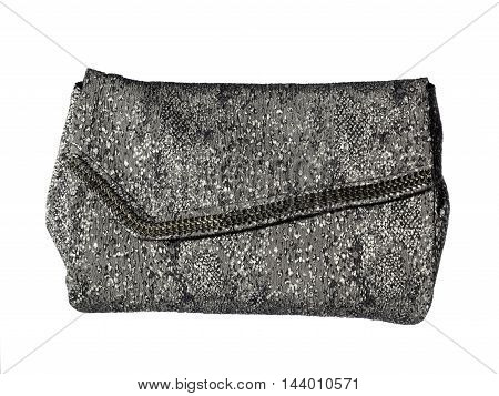 high detailed trendy womens bag isolated on white