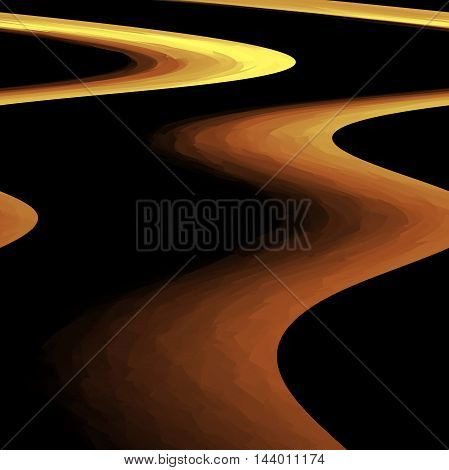 Abstract gradients coloring background with visual shear,cubism and wave effects