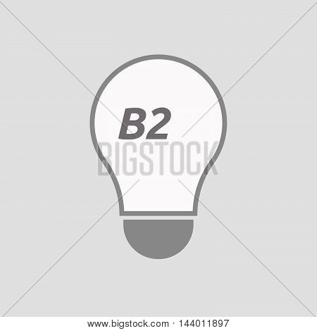 Isolated Line Art Light Bulb Icon With    The Text Reggae