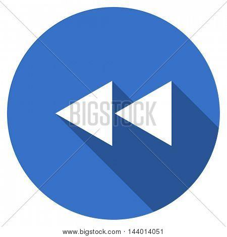 rewind vector icon