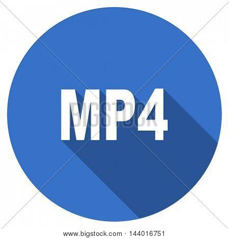 mp4 vector icon