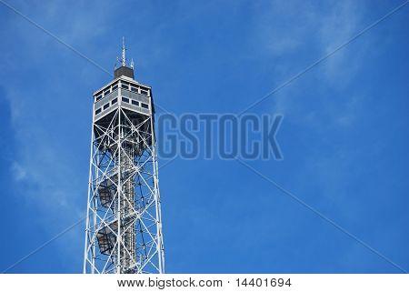Metallic Panoramic Tower