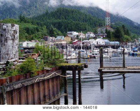 Harbor In Ketchikan, Alaska