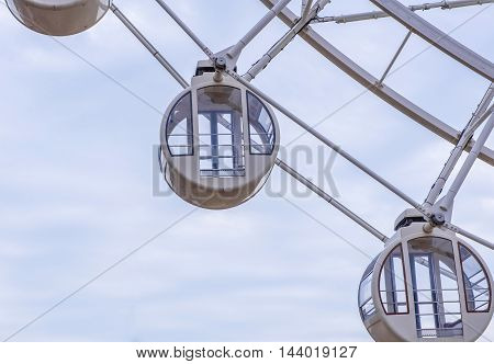 ferris wheel for Scenic ride in amusement park.