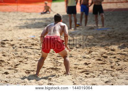 Beachvolley Ball Player