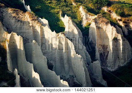 The Badlands in Chieti province ( Italy)