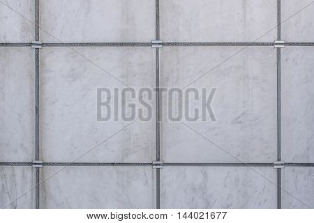 White Marble Brick Wall Abstract For Background