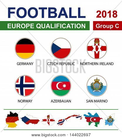 Football 2018, Europe Qualification, Group C