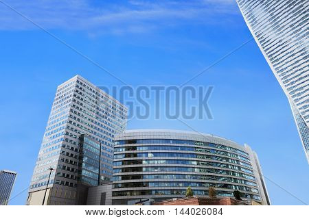 Modern Building And Blue Sky