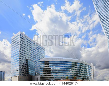 Modern Shopping And Office Center