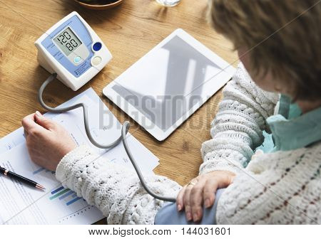 Sphygmomanometer Healthcare Blood Pressure Medication Concept