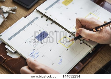 Schedule Memo Diary To Do List Concept