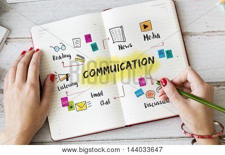 Communication Discussion Team Work Ideas Concept