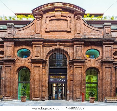 Museo Egizio In Turin (hdr)