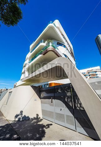 Citylife Milano Residential Complex By Zaha Hadid In Milan (hdr)