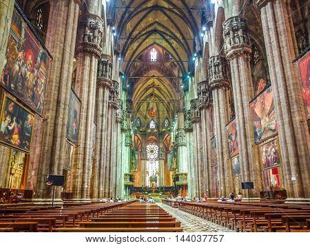 Milan Cathedral (hdr)